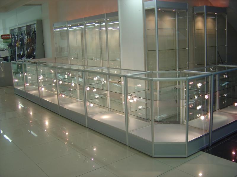 витрины для торговли